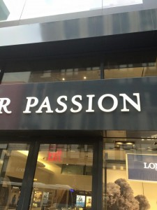 passion in NY